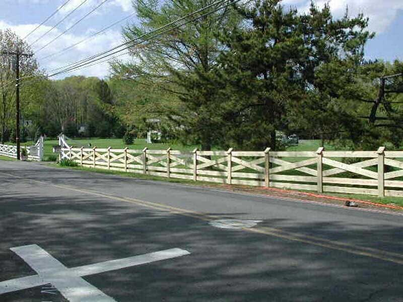 Residential Hillsborough Nj York Fence Construction