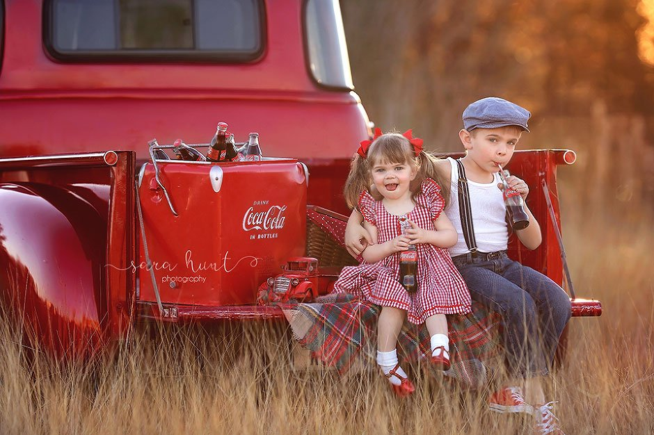 Things Are Better With Coca Cola Pearland Houston Texas Child Photographer