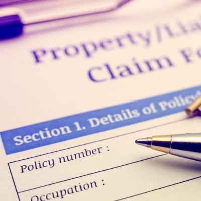 Liability claim form - Claims in Vancleave, MS