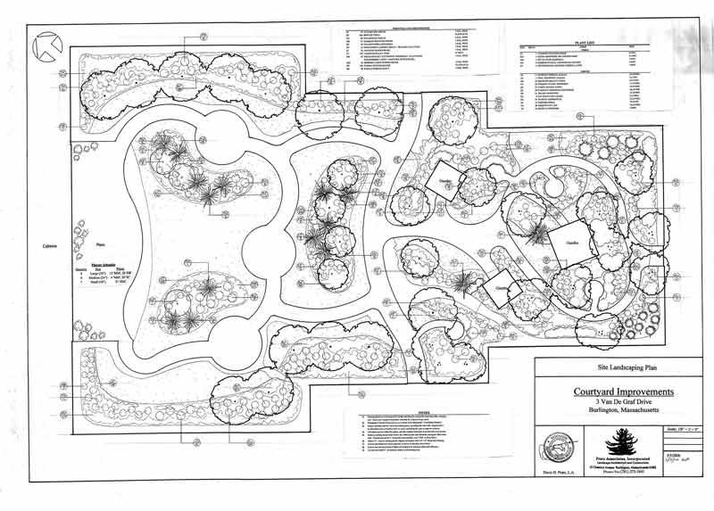 Landscape architecture burlington ma prato associates inc landscape blueprint 4 landscape architecture in burlington ma malvernweather Images