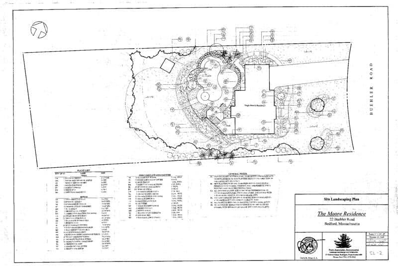 Landscape architecture burlington ma prato associates inc landscape blueprint 2 landscape architecture in burlington ma malvernweather Images