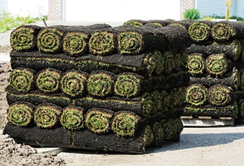 Sod Rolls — Sodding Installations in Oklahoma City, OK
