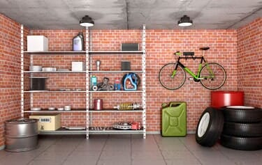 Interior Garage With Tools, Equipment And Wheels U2014 Garage Doors In  Corrales, NM
