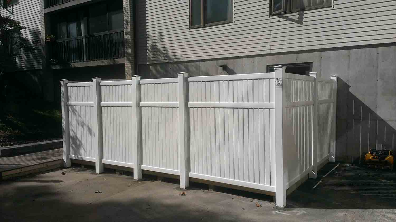 Vinyl Fence Installation Marshfield Scituate And