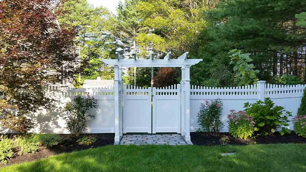 Vinyl Fence Installation Marshfield Scituate And Pembroke Ma East