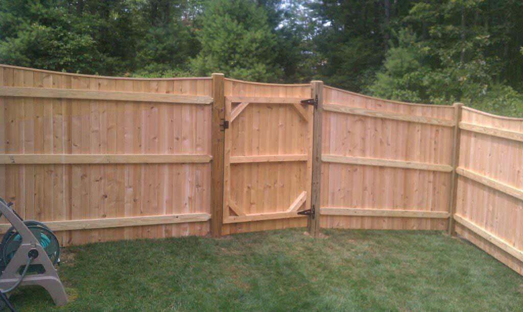 Cedar Fence Installation Higham Norwell And Hanover Ma East Coast