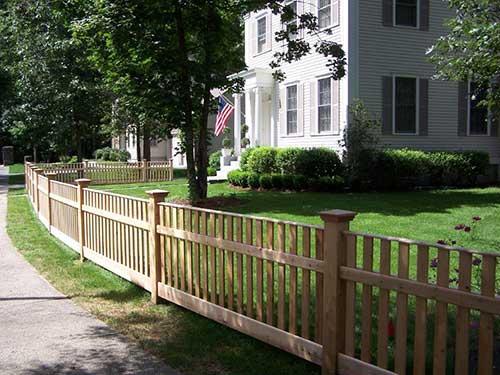 Custom Cedar Fencing Rhode Island Statewide Fence