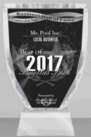 Pool And Spa Pinellas Park Fl Mr Pool Inc