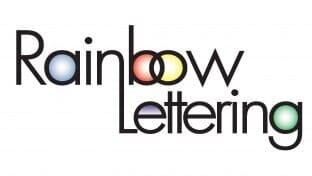 letter imprints elmira ny rainbow lettering