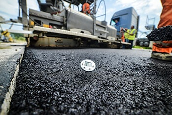 Hot Asphalt Being Laid — Surface Grinding in Union, SC