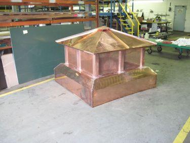Sheet Metal N Copper Chimney Caps A W Therrien Company