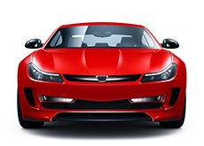Red Sports Car — Auto Body Repair in Denton, TX
