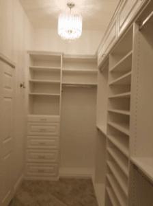 custom closets. Closet With Chandelier- Custom Closets In Glendale, AZ Custom Closets