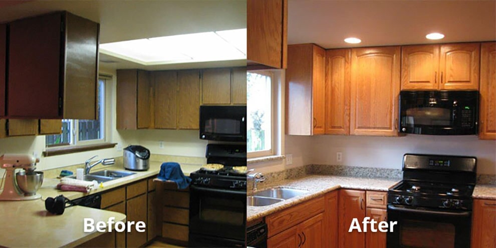 Kitchen Update   General Contractor In Lacey, WA