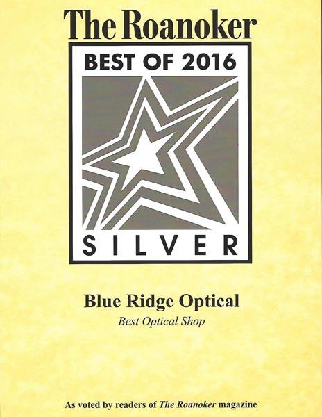 Optical Shop - Roanoke, VA - Blue Ridge Optical