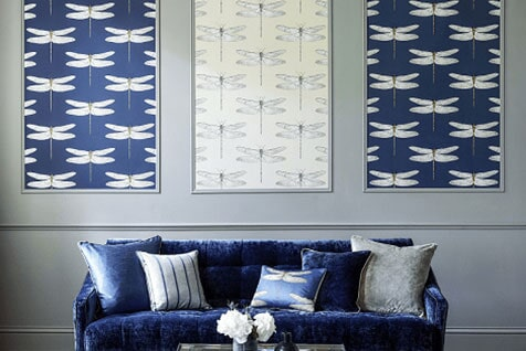 Decorating — Blue Wallpaper in Wauwatosa, WI