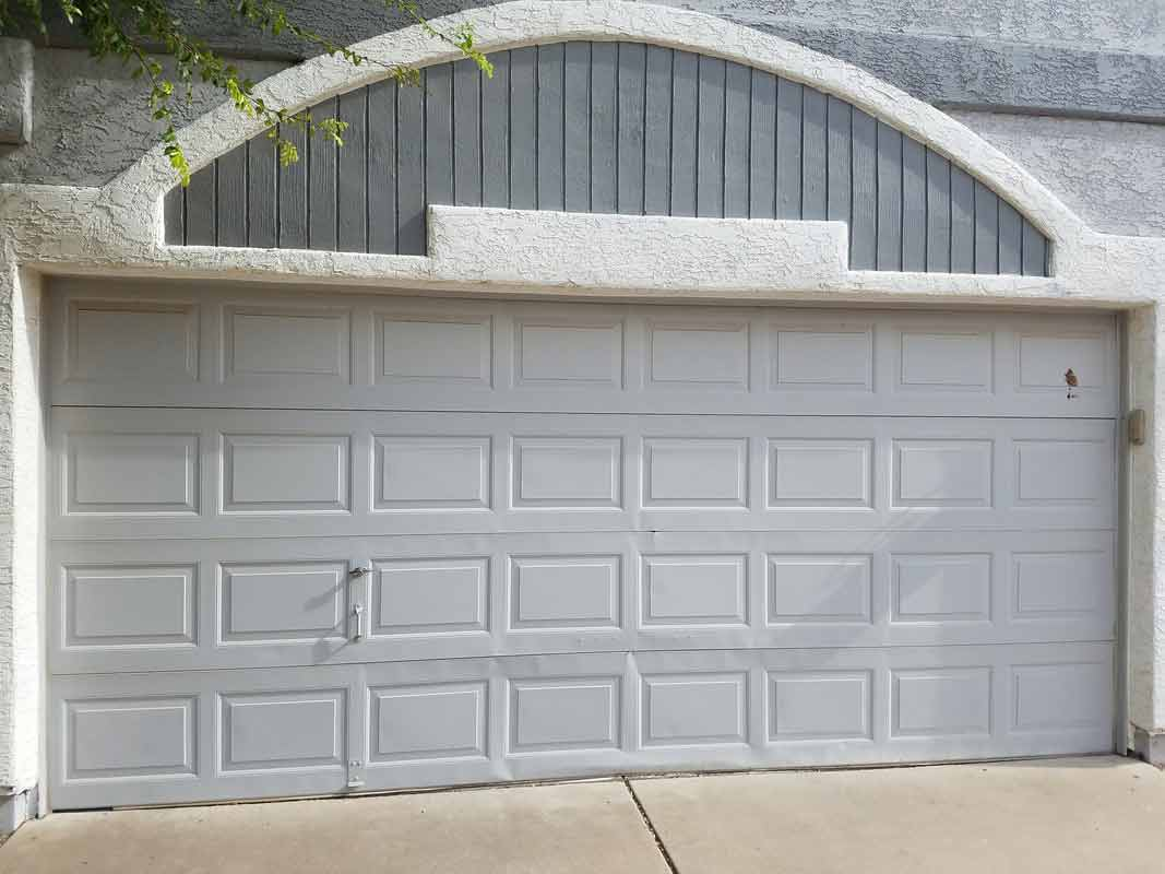 White Door U2014 Garage Door Repair In Gilbert, ...