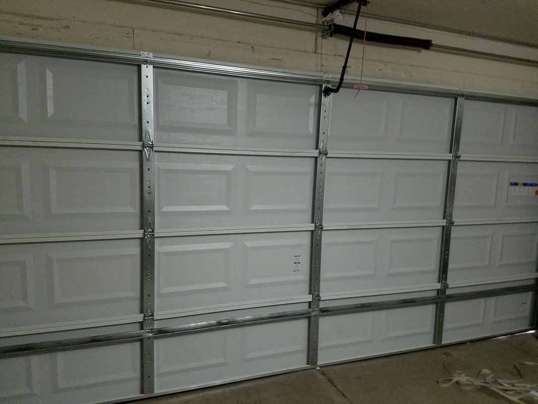 Door With Metal Style U2014 Garage Door Repair In Gilbert, AZ ...