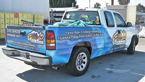 company car swimming pool cleaning in the south bay area pool service truck n89 truck