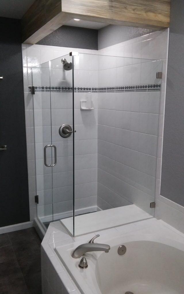 Shower Door Installation Littleton CO Highlands Ranch Glass Company - Bathroom glass door installation
