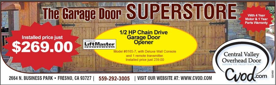 New Two Car Garage Door Offer