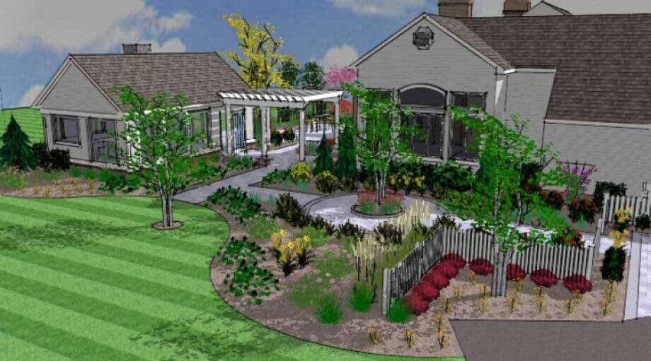 home landscaping in glenwood md w h boyer inc