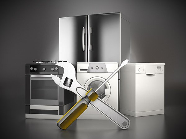Washer Fridge and stove