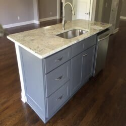 Island with sink - kitchen remodeling in Atlanta, GA
