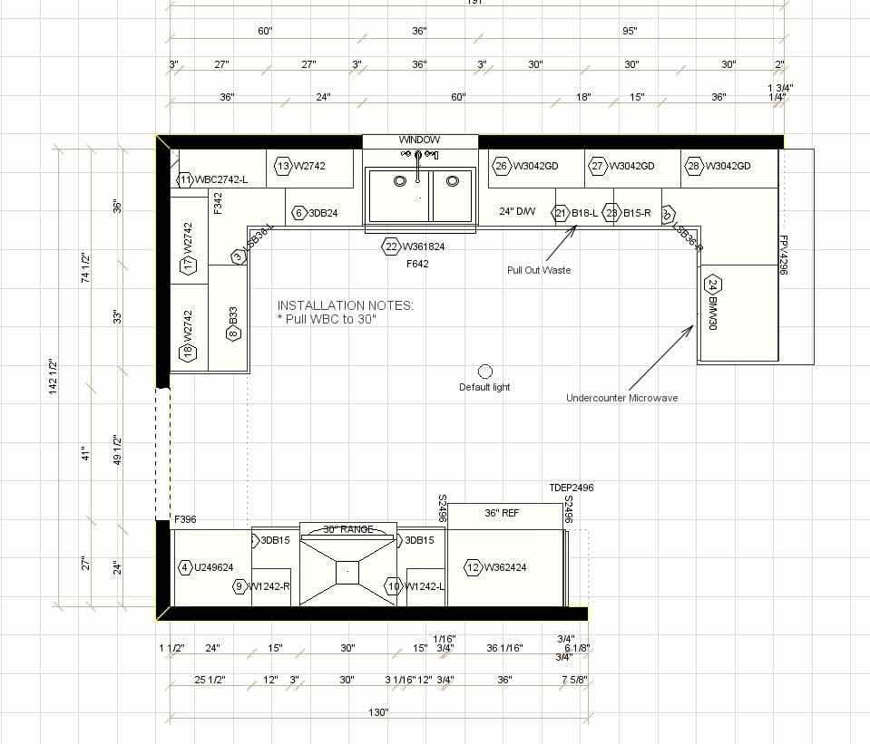 House Interior Plan - kitchen design in Atlanta GA