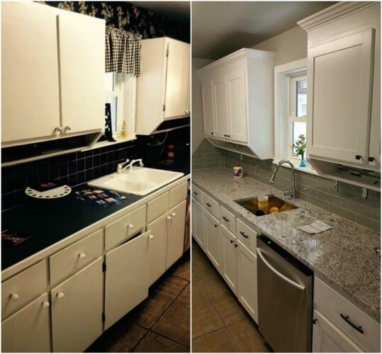 White Kitchen Cabinets Maintenance: Cabinet Repair & Carpentry