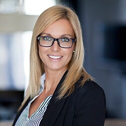 Confident Businesswoman Working At The Office - Fashionable Eyewear