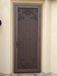 designs decorative screen doors door fancy for and screens laser silver decor fern windows security cut