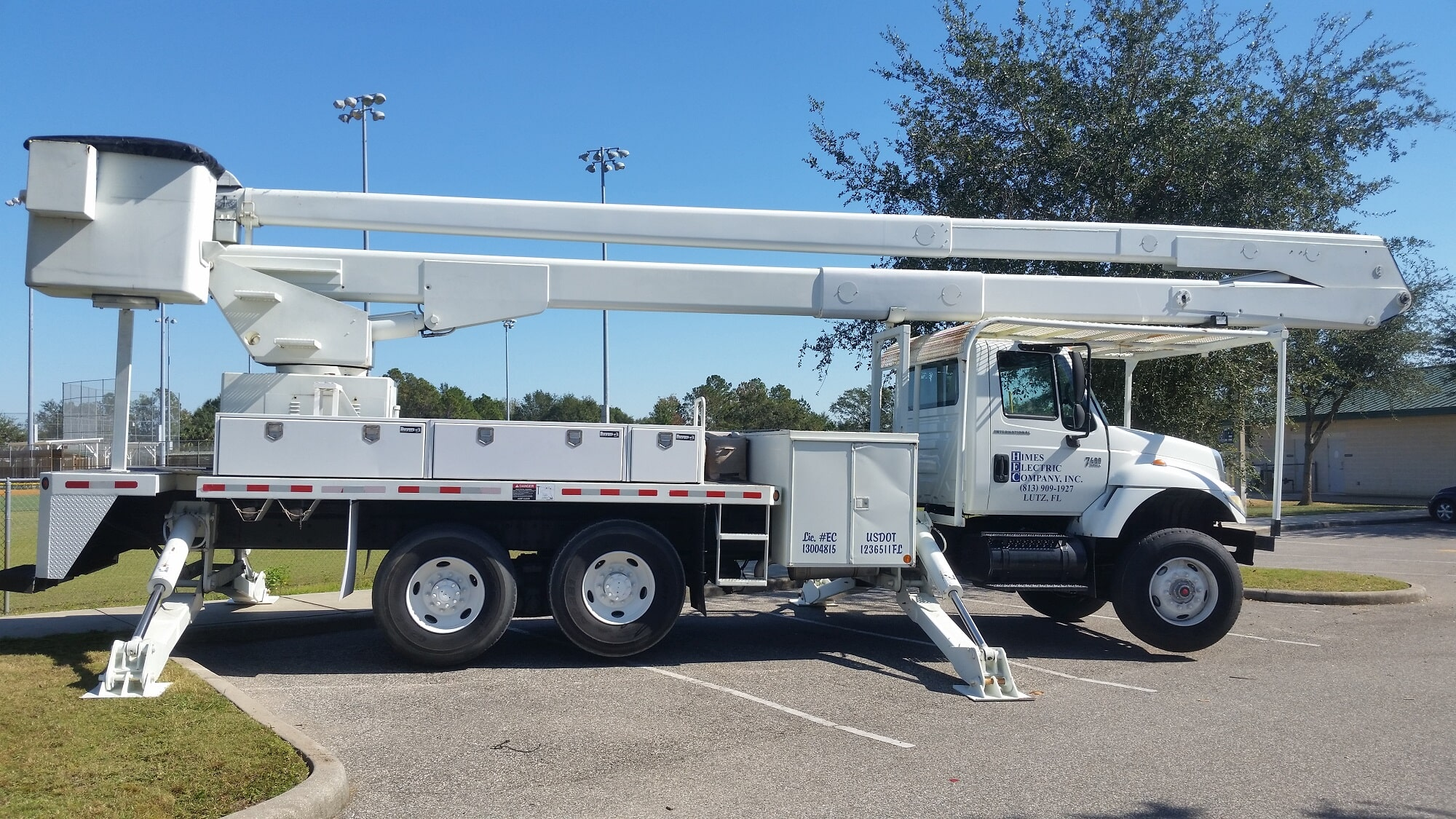 stadium street lighting lutz fl himes electrical service inc