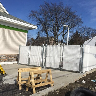 Commercial Fencing Pawtucket Ri Fence Tech