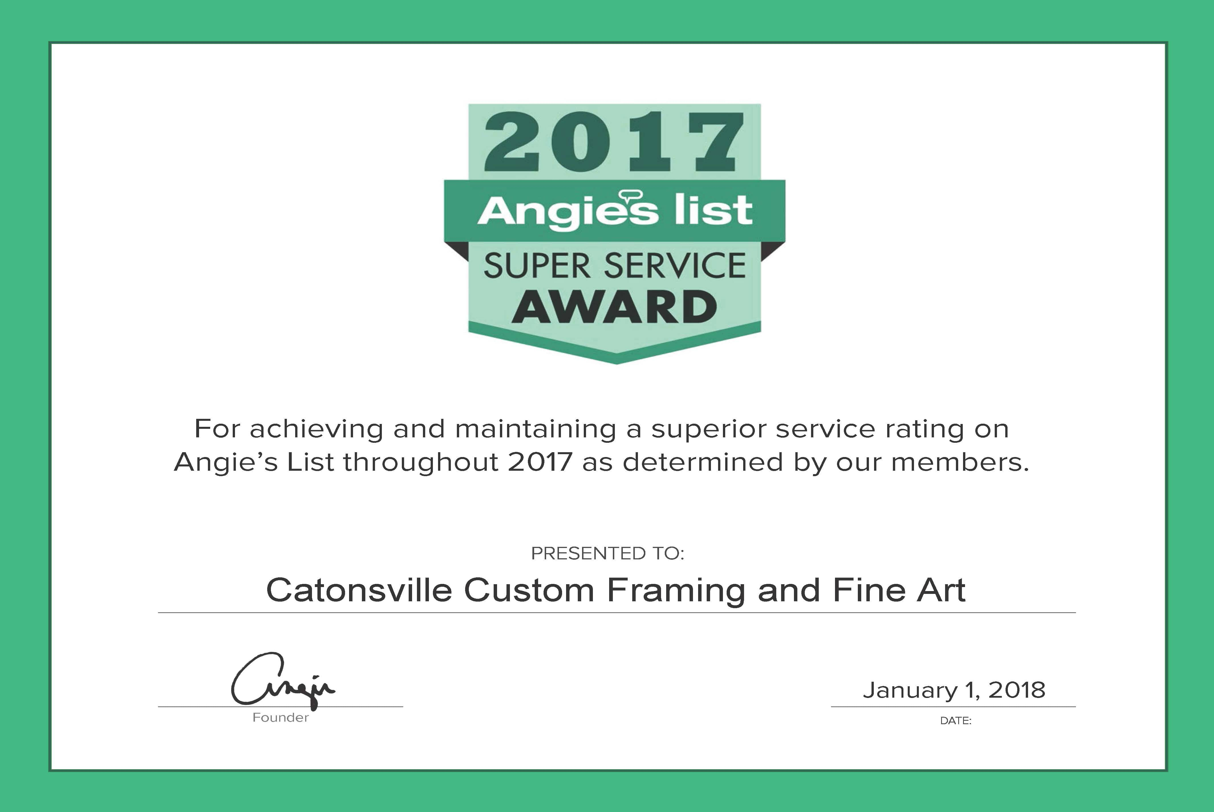 Custom Picture Frames | Catonsville, MD | Catonsville Custom Framing ...