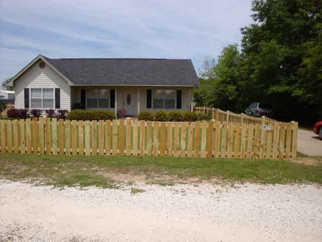 Residential Fencing Mobile Baldwin County Al Mitchell Fence