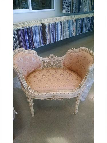 Peach Color Chair U2014 Custom Upholstery In Portland, OR