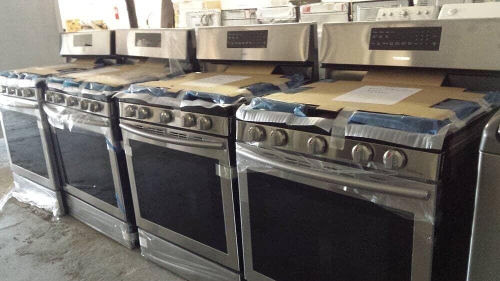 Gas & Electric Stove Appliances | Las Vegas, NV | Manny's Discount ...
