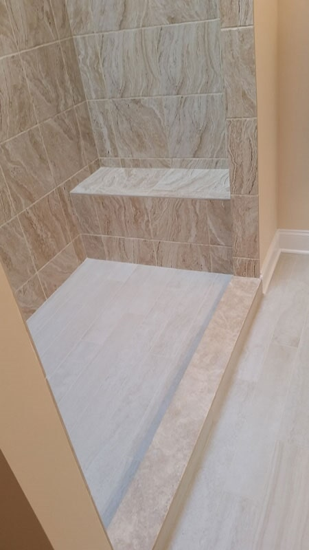 Shower Floor Tile   Affordable Bathroom Remodeling In Syracuse, NY