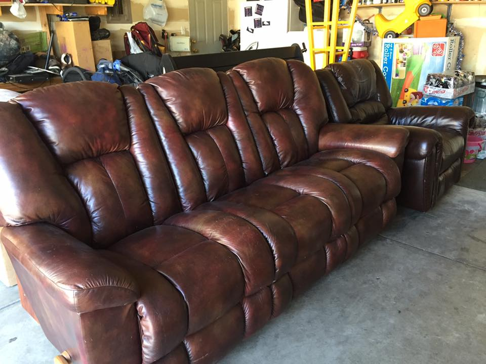 Leather Sofa   Home Office Furniture In Greeley, ...