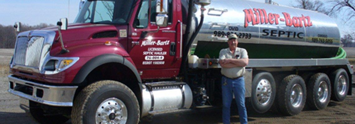 Septic Pumping - Durand, MI - Al Miller/Bartz Septic Service