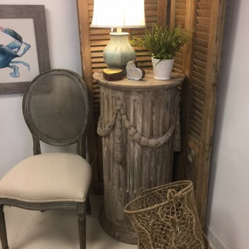 Ordinaire Rustic Chair And Table   Rustic Painted Furniture In Daphne, AL