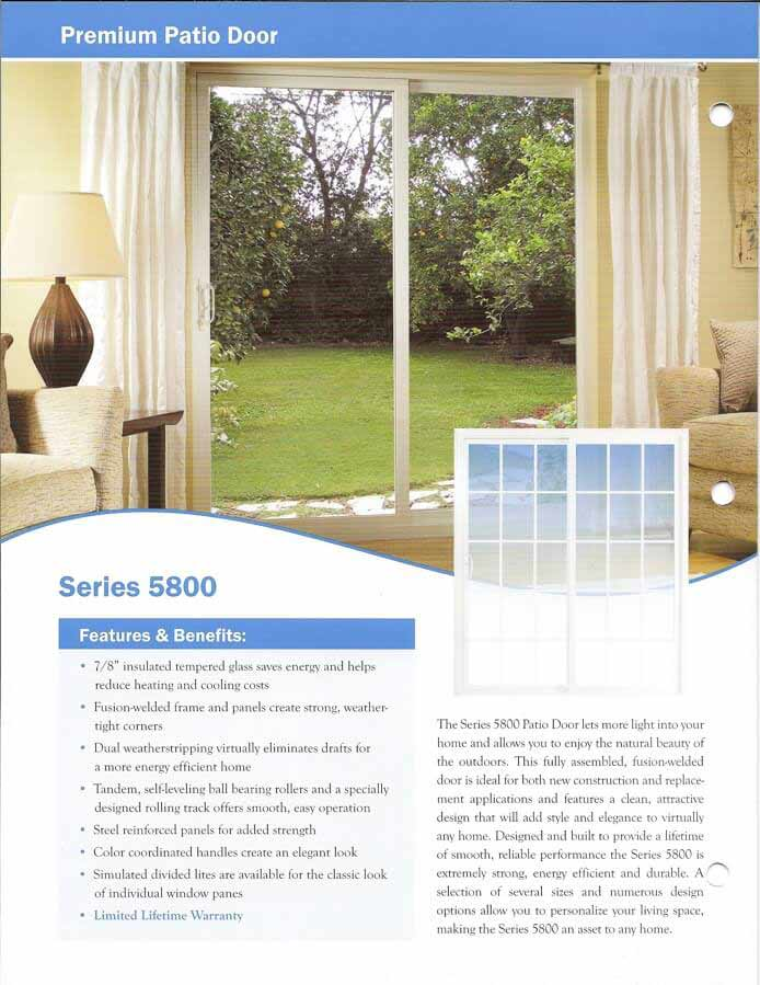 purchase cheap 555c2 ffed1 Custom Aluminum and Vinyl Patio Doors - Des Moines, IA ...