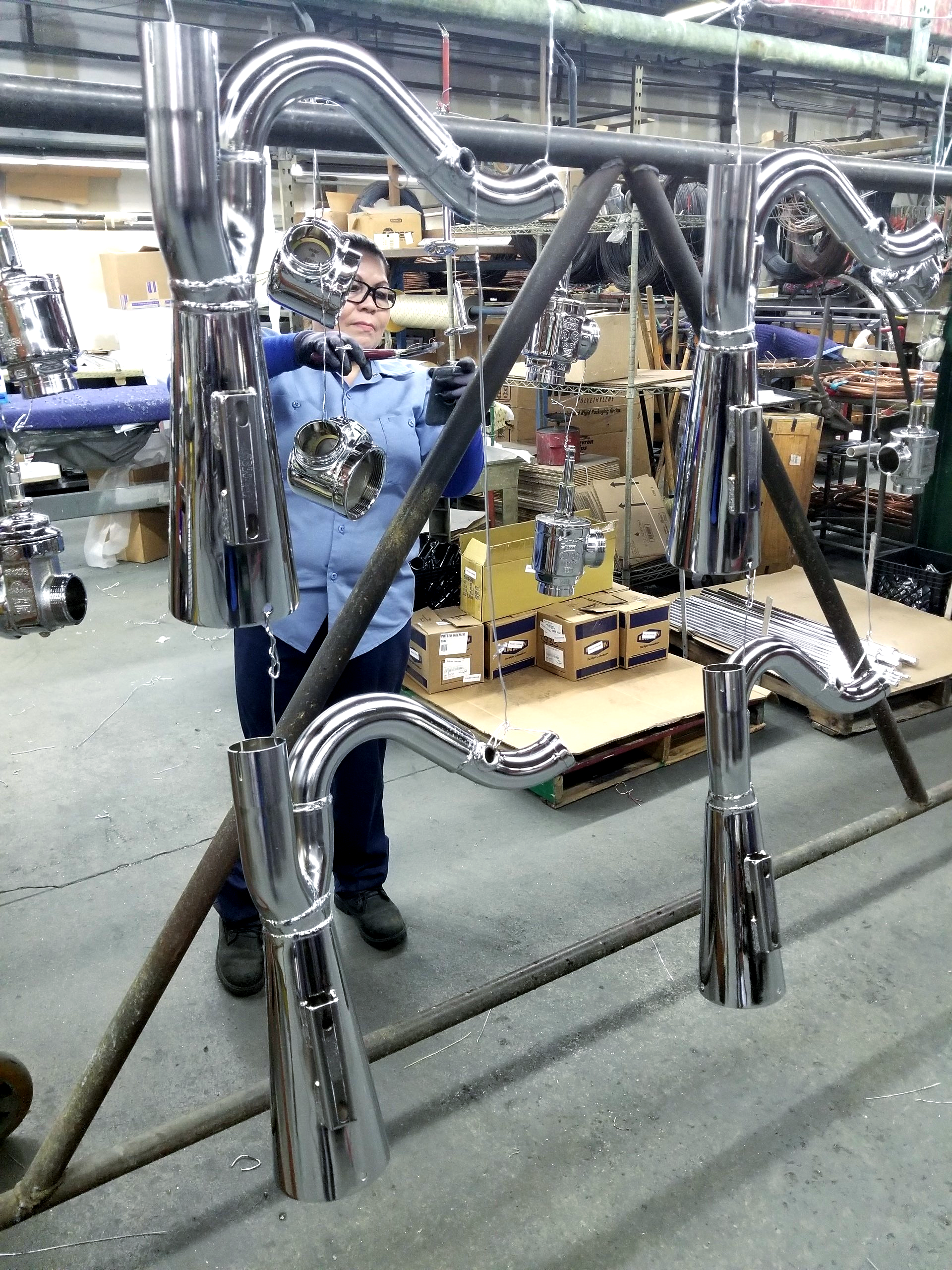 Metal Finishing in the Pomona and Industry, CA