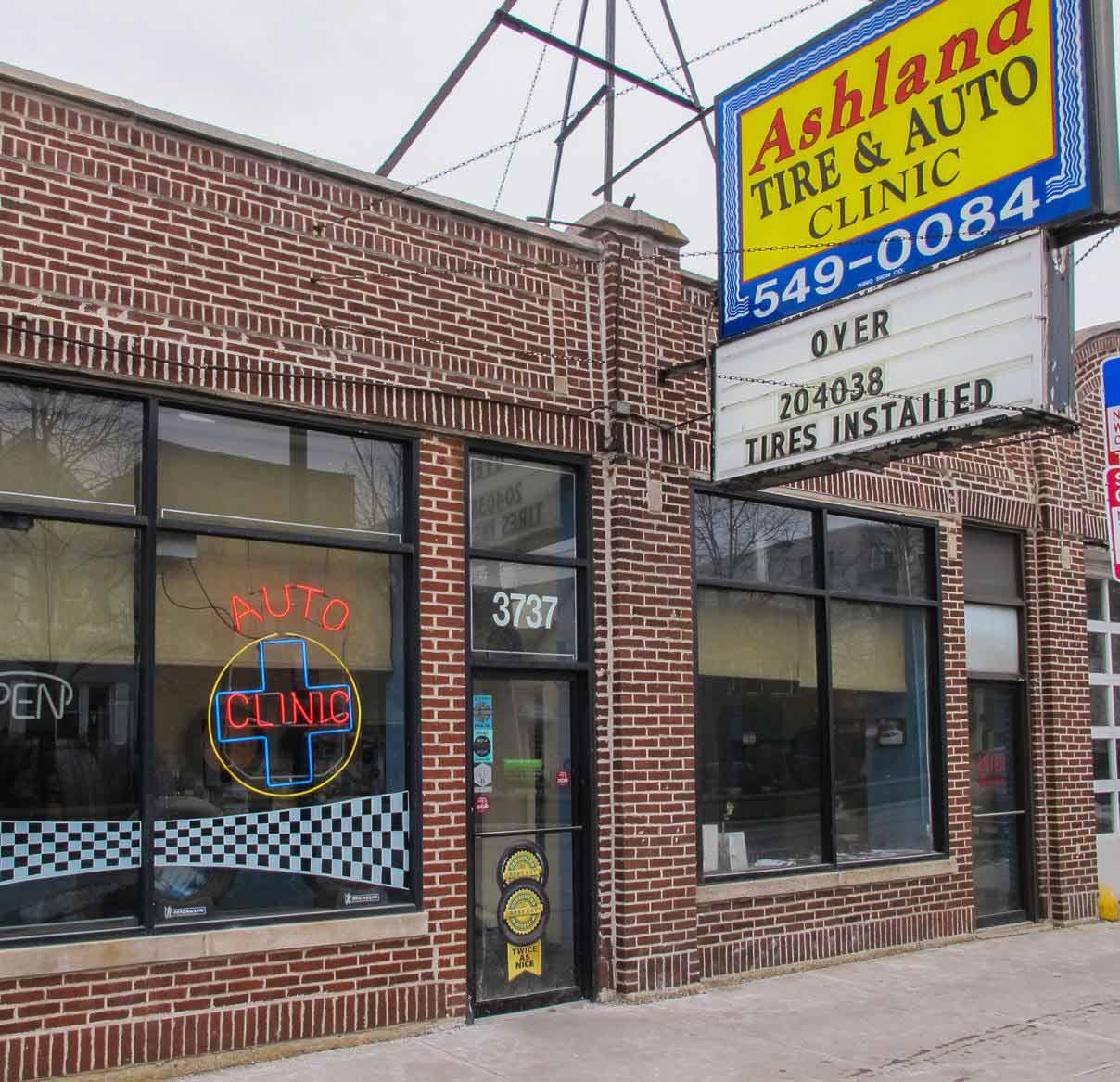 Auto Repair Shop Chicago Tire Repair Shop Ashland Tire Auto