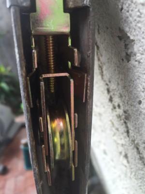 Replaced Sliding Door Latch   Sliding Door Repair In Corona, CA