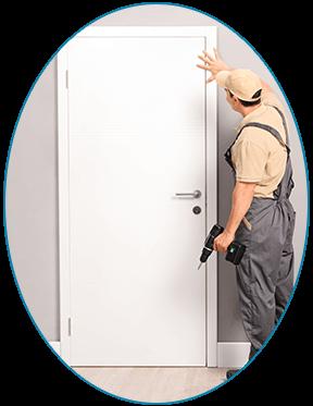 Handyman Installing A Door   Window U0026 Door Installation In Cheyenne, ...
