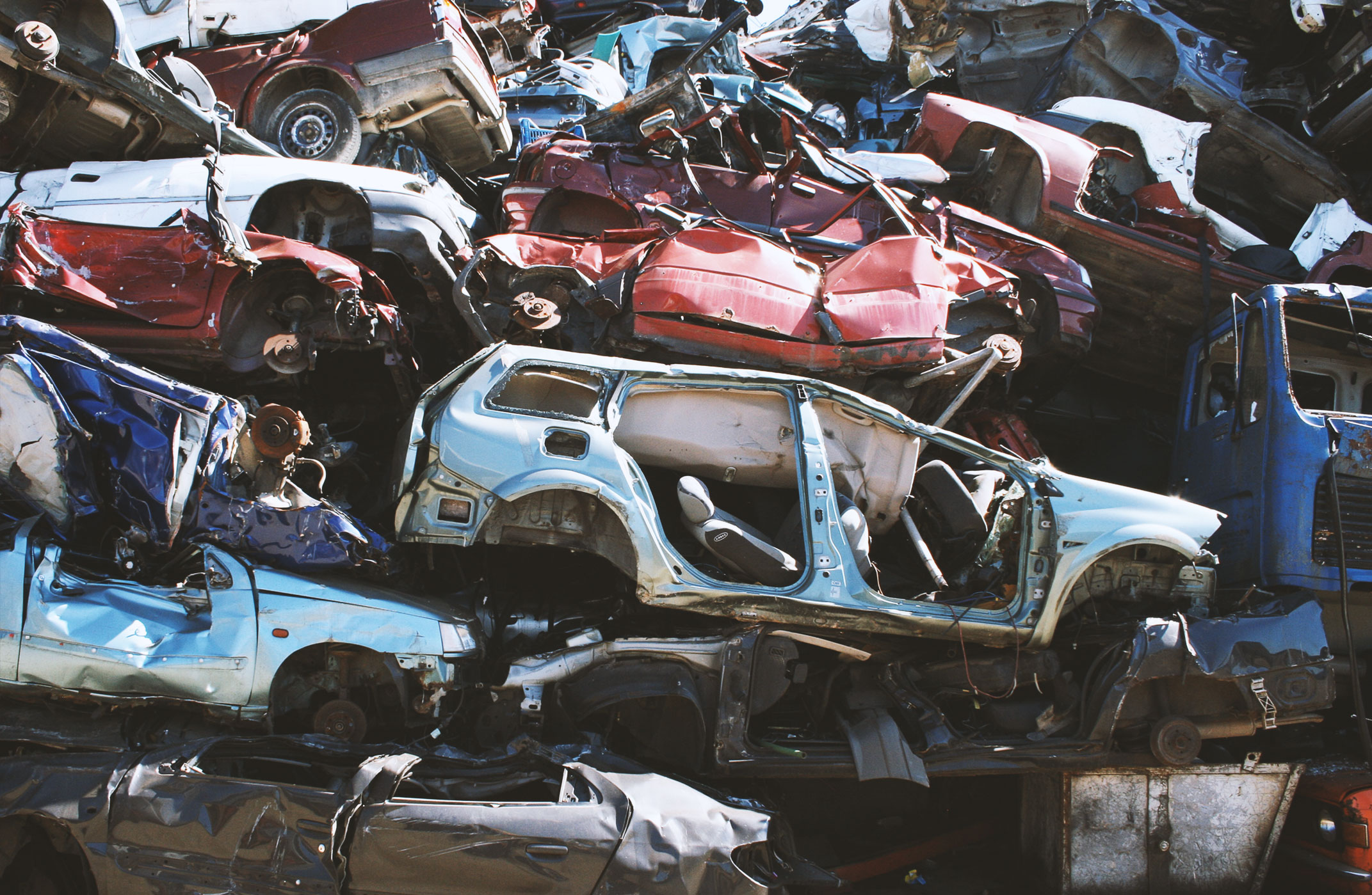Sell Your Scrap Metal - Muskegon, MI - Sprague\'s Auto Parts Inc