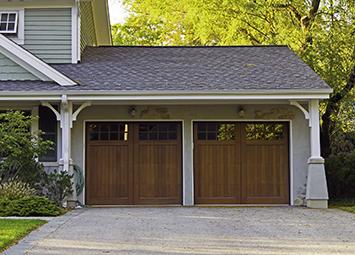 Dark Brown Garage Door   Overhead Doors In Marshalltown, IA
