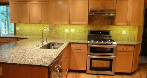 Marble Kitchen Countertops U2014 Home Remodeling In Olympia, WA